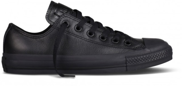 Converse Men's Ctas Ox in Black Mono
