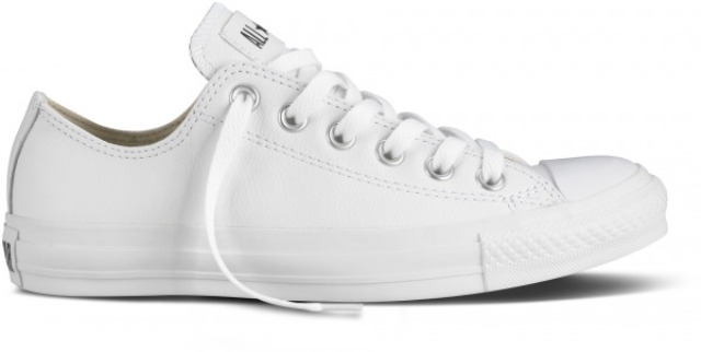 Converse Men's Ct Ox in White Leather