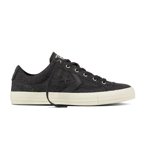 Converse Men's Star Player Ox in Almost Black