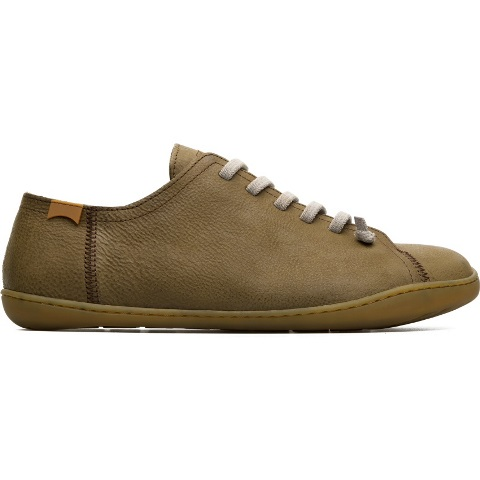 Camper Men's Peu Cami Khaki Nubuck Shoe 17665-153