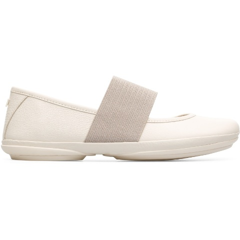Camper Women's Right Nina Off White Leather
