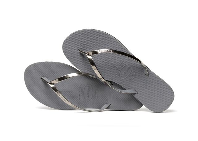 Havaianas Women's H. You Met Flip Flops in Steel Grey