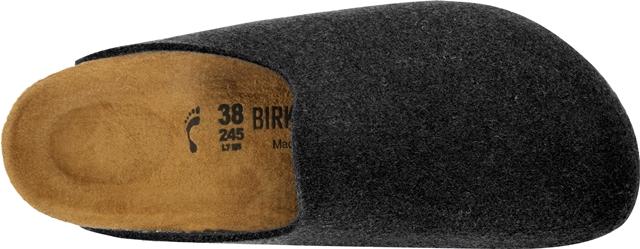 Birkenstock Amsterdam slipper-grey Vegan