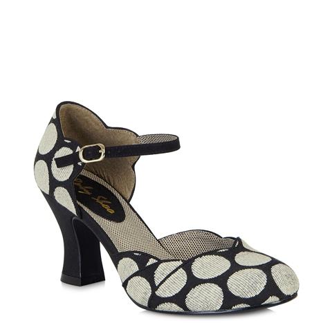 Ruby Shoo Annabel Women's Heels in Black/Spotty