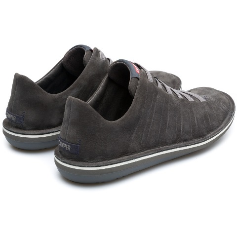 Camper Men's Beetle Ribbed in Grey