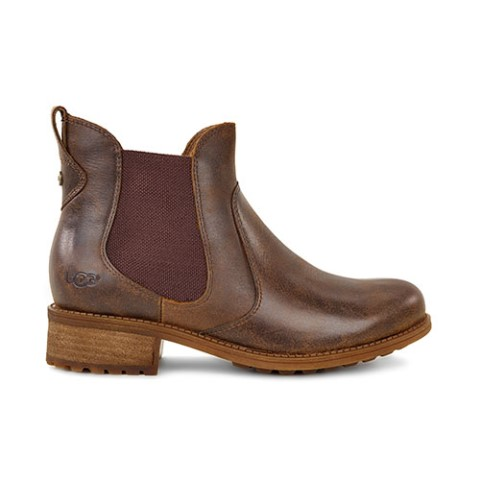 UGG Bonham Women's Chelsea Boot in Brown stout Leather