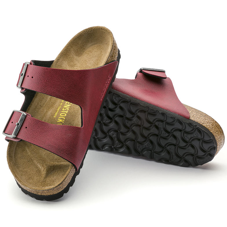 Birkenstock Arizona Vegan Bordeaux red -New for 2018