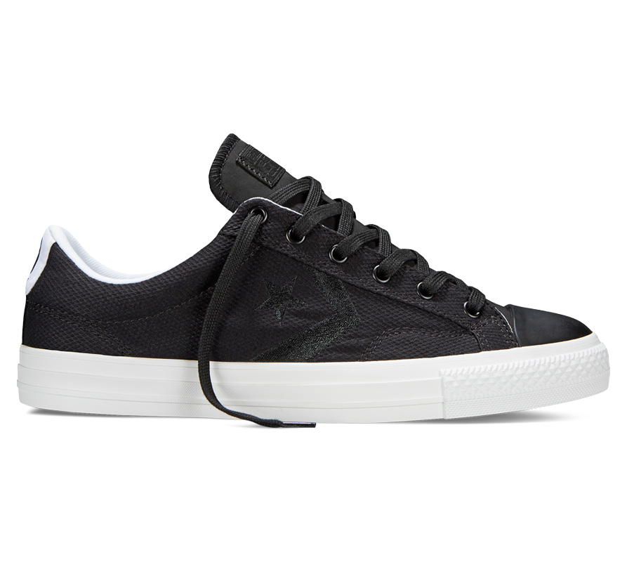 Converse Men's Star Player Ox Perf Black 147389C