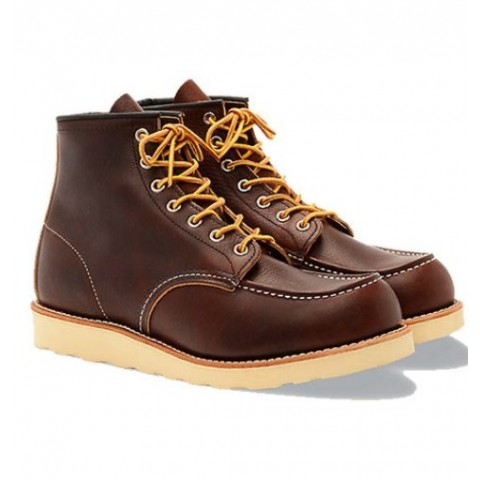 Red Wing Moc Toe Heritage Boot- 8138 Briar