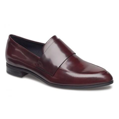Vagabond Frances Pointed Loafer Bordo Leather