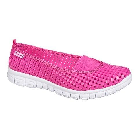 Holees Ladies Ballerina Shoe- Pink/white