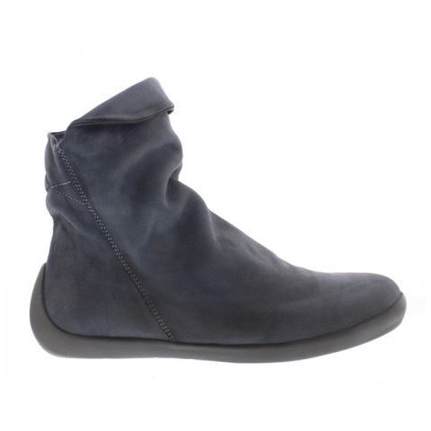 Softinos Nat Ankle boot-Navy Leather