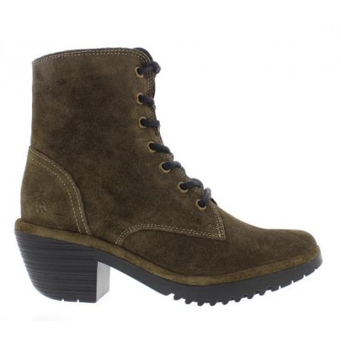 Fly London WOKE Boot - Sludge Oil suede