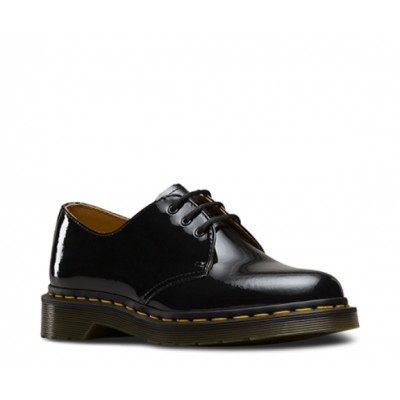 Dr Martens Women's 1461 Black Patent Shoe 10084001