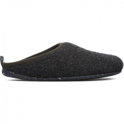 Camper Wabi Mens Grey Felt Slipper 18811-033