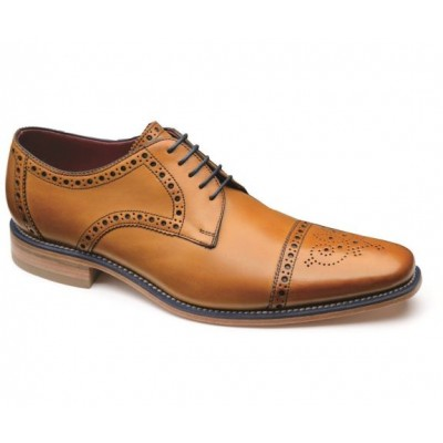 Loake Men's Foley in Tan Leather