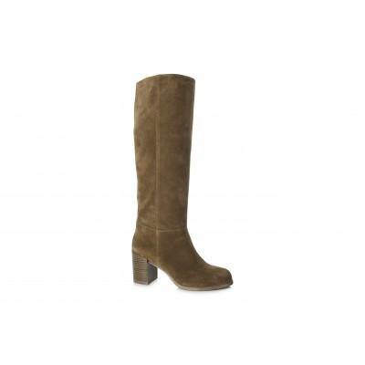 Vagabond Women's Anna Suede Knee High Boot Cinammon / Tan