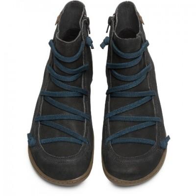 Camper Women's Peu Cami boot- black/teal
