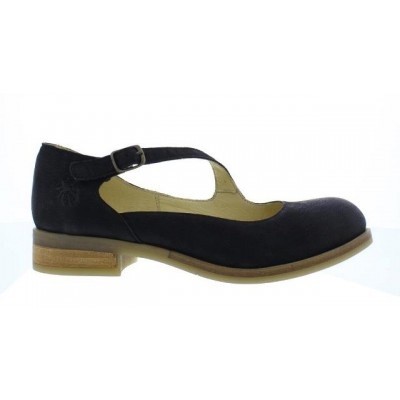 Fly London Alky Women's Black Mary Jane Shoe
