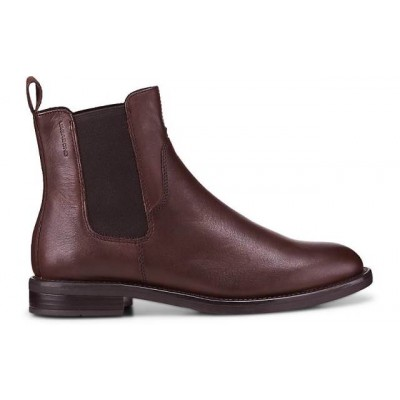 Vagabond Amina Chelsea boot-Bordeaux leather