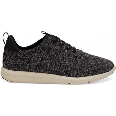 Toms Cabrillo Trainer - Black Terry Cloth