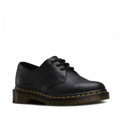 Dr Martens Ladies 1461 - Black Virginia Leather