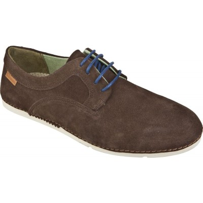 El Natura Lista Men's N706 Suede Brown Lace Up Cocoi