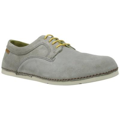 El Natura Lista Men's N706 Grey Suede Yellow Lace Up Cocoi