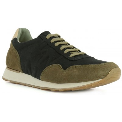 El Naturalista mens 'Walky' trainer ND90 Black/Khaki