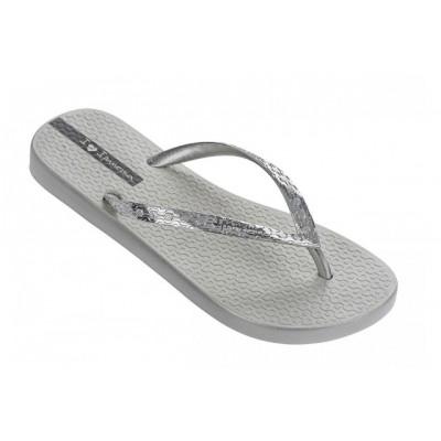 Ipanema Glam Women's Chrome silver Flip Flop