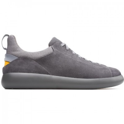 Camper Men's Pelotas Capsule X in Grey Suede K100319-001