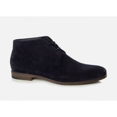 Vagabond Mens Linhope Suede Indigo Lace-up Boot