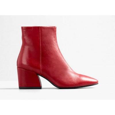 Vagabond Olivia Zip Boot-Red