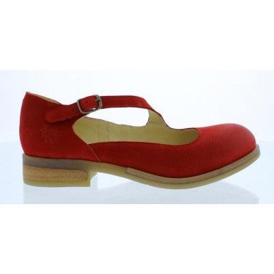 Fly London Alky Women's Red Mary Jane Shoe