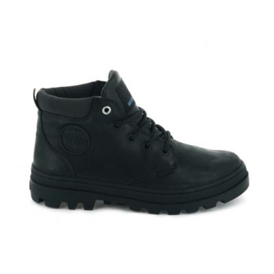Palladium Pallabosse Lo Cuff W/P Ankle Boot - Black