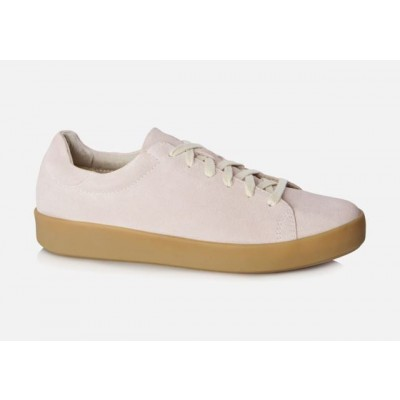 Vagabond Serena Pink suede sneaker-Gum sole
