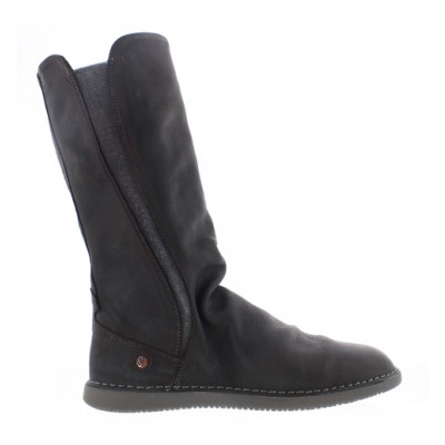 Softinos Teya Elasticated Boot- Anthracite