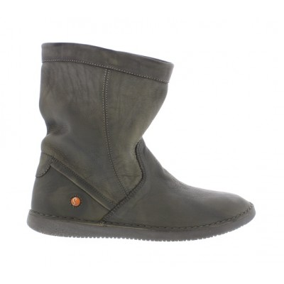 Softinos Til soft leather boot- Militar grey