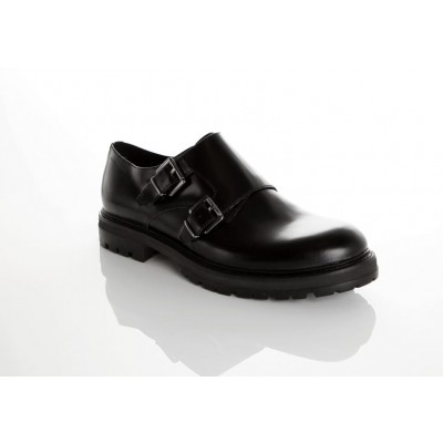 Vagabond Men's Giorgi Black Leather Monk Shoe 3878-204-20