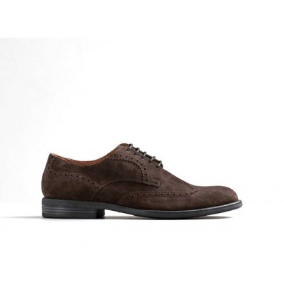 Vagabond Salvatore Suede Brogue Shoe
