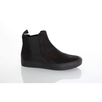 Vagabond Women's Zoe Low Nubuck Chelsea Boot Black