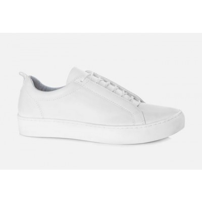 Vagabond Women's Zoe All White Hidden Lace trainer