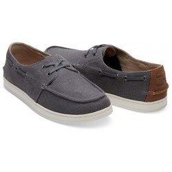 Toms Culver Men's Boat Shoes in Grey 10011632