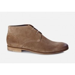 Vagabond Mens Linhope Suede Sand Lace-up Boot