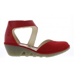 Fly London Women's Pats in Red