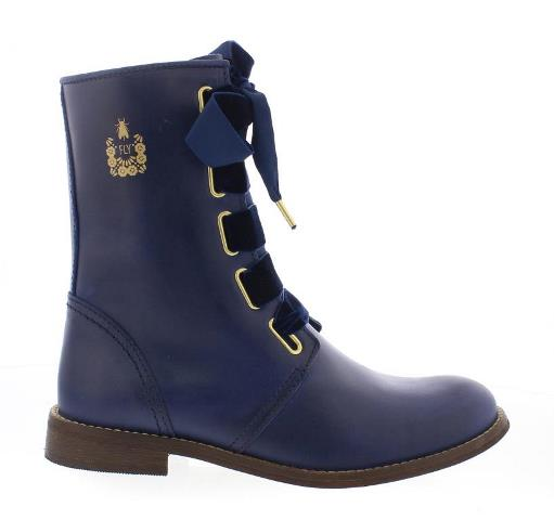FLY London DWELL Ankle Boots - Blue
