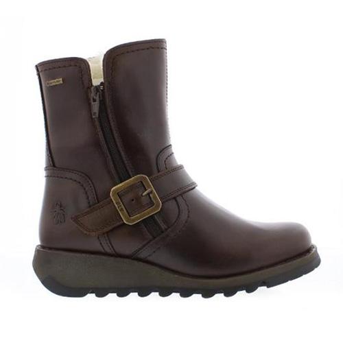 Fly London SEKU Boot - Dark Brown GoreTex