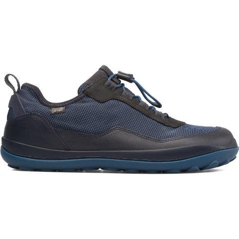 Camper Mens Peu Pista Goretex shoe-Black/Blue