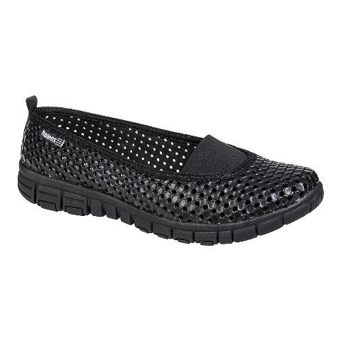 Holees Ladies Ballerina Shoe-Full Black