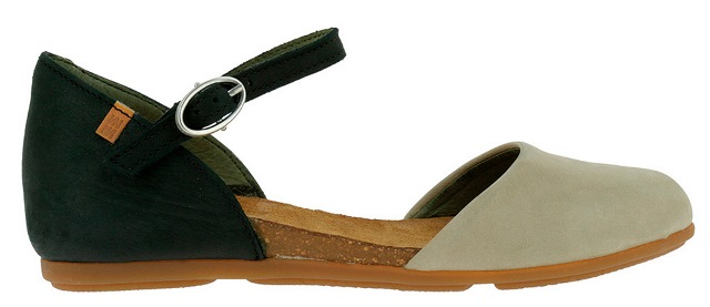 El Naturalista Women's ND54 in Black and Taupe